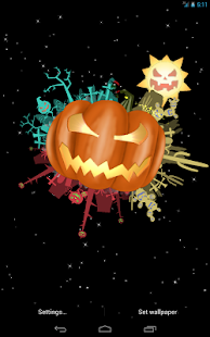 Halloween Live Wallpaper free - screenshot thumbnail
