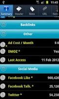 Screenshot of Powerful Webmaster Tools