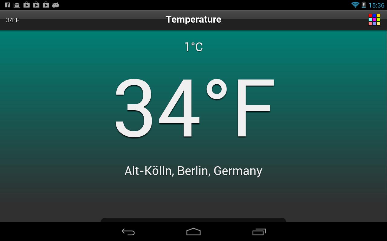 Temperature Free - screenshot