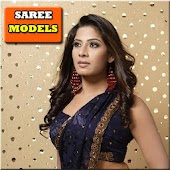 Gorgeous Saree Model