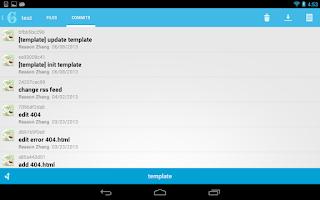 Screenshot of SGit