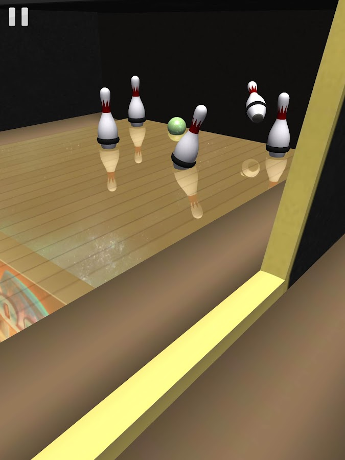 Galaxy Bowling 3D HD - screenshot