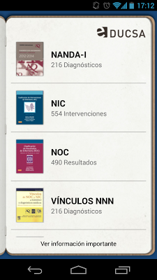 NandaNocNicStudents - screenshot