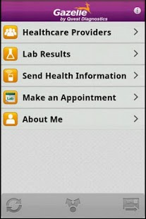 Gazelle - Mobile Health App - screenshot thumbnail