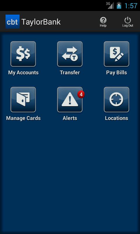 Calvin B. Taylor Mobile- screenshot