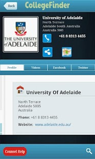 Codemunch CollegeFinder - screenshot thumbnail