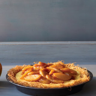 Apple Custard Pie.