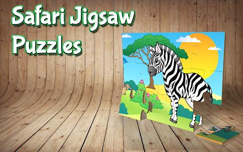 Safari Jigsaw Puzzles for kids