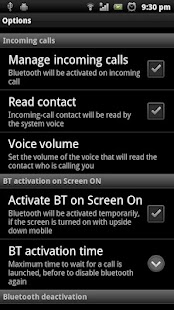 My Bluetooth Handsfree Pro- screenshot thumbnail