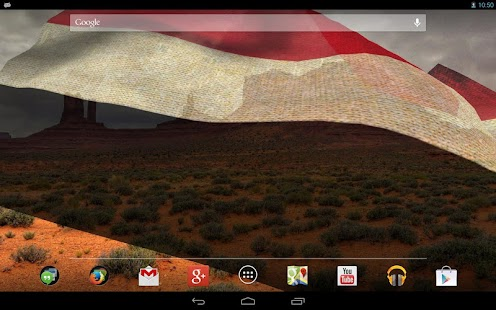 3D Yemen Flag Live Wallpaper - screenshot thumbnail