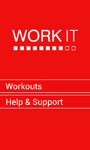 Work It - Exercise Fitness