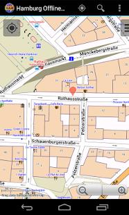 hamburg offline city map android apps on google play. Black Bedroom Furniture Sets. Home Design Ideas