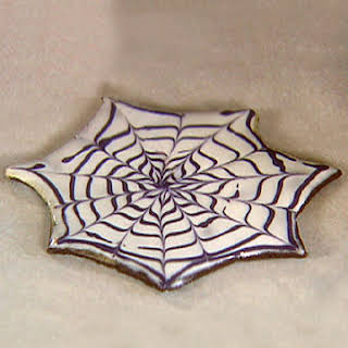 Spiderweb Cookies.