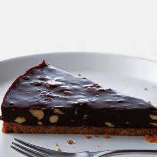 Chocolate Hazelnut Tart.