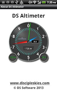 DS Altimeter - screenshot thumbnail