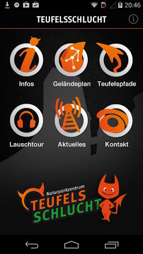 Die Teufelsschlucht-App