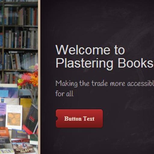 Plastering Books website