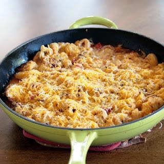 Cheesy Tortellini Skillet.