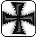 Iron Cross black doo-dad logo