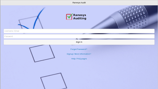 Ranesys Digital Audit Tool