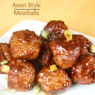 Asian Style Meatballs Recipe