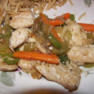 Ah Sa Wan Restaurant Black Pepper Chicken