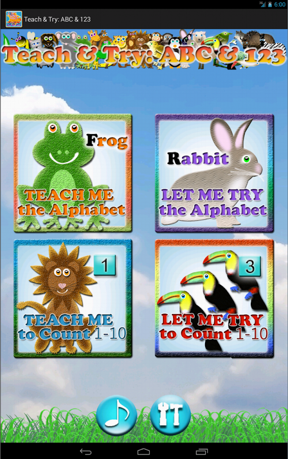 Teach & Try: ABC & 123 (Lite)- screenshot