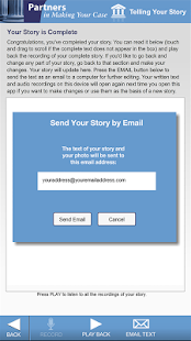Telling Your Story  (Tablet)- screenshot thumbnail