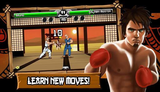 Ultimate Combat Fighting - screenshot