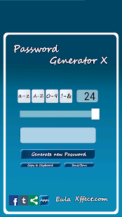 Password Generator X - screenshot thumbnail