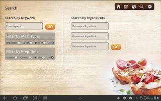 Screenshot of iFood Assistant Tablet