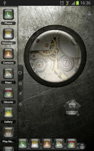 TSF Shell Theme EventGlassW HD - screenshot thumbnail