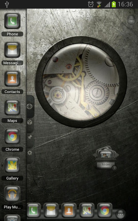 TSF Shell Theme EventGlassW HD - screenshot