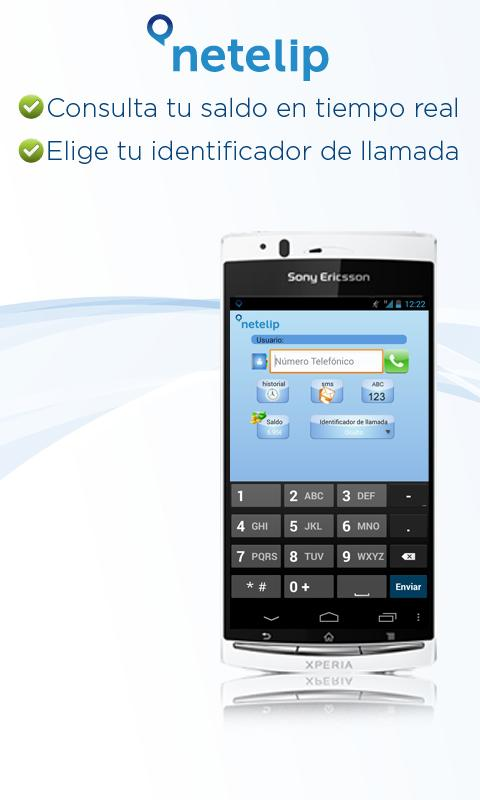 Netelip Phone - screenshot