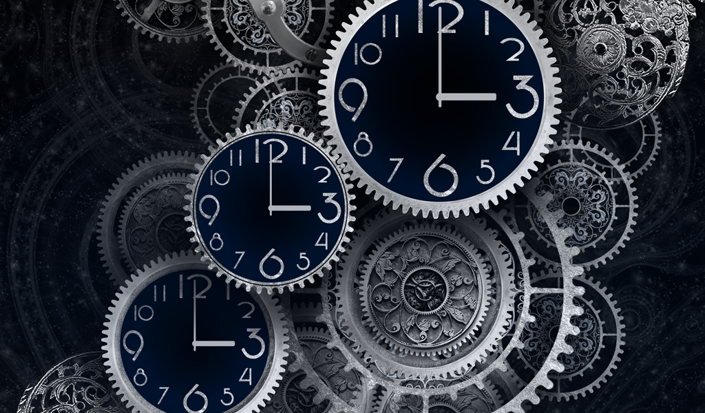 FREE Black Clock LiveWallpaper - screenshot