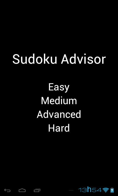 Sudoku Advisor - screenshot