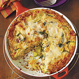 Pasta and Vegetable Frittata.