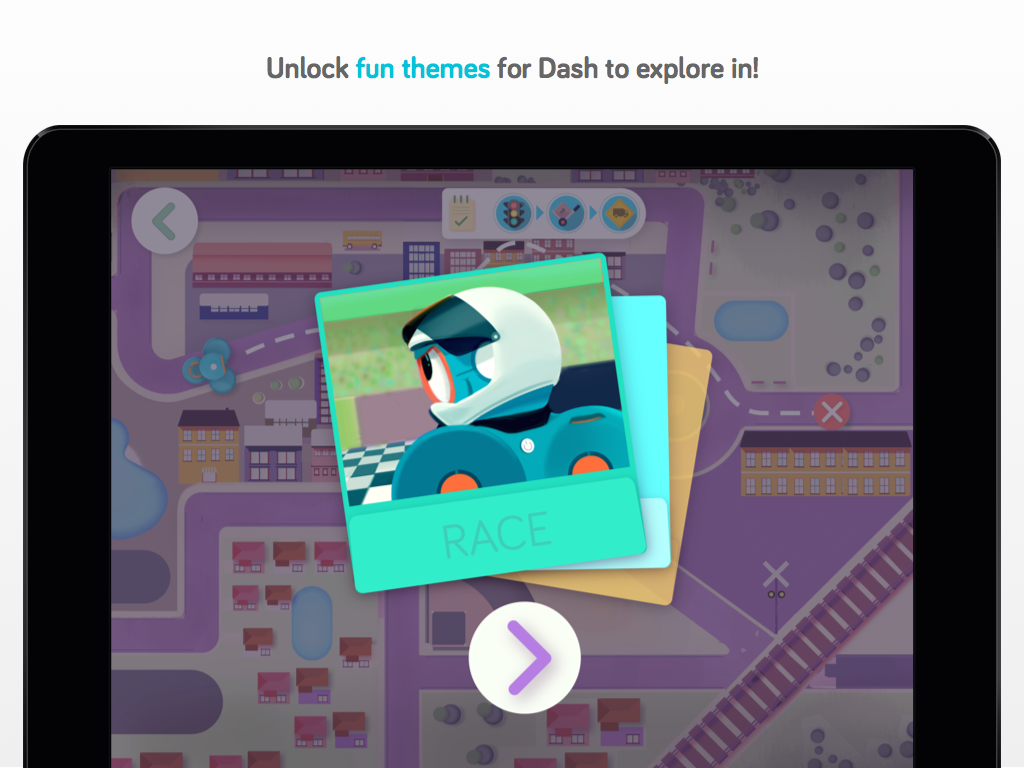 Path for Dash robot- screenshot