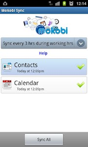 Mokobi Sync screenshot 1