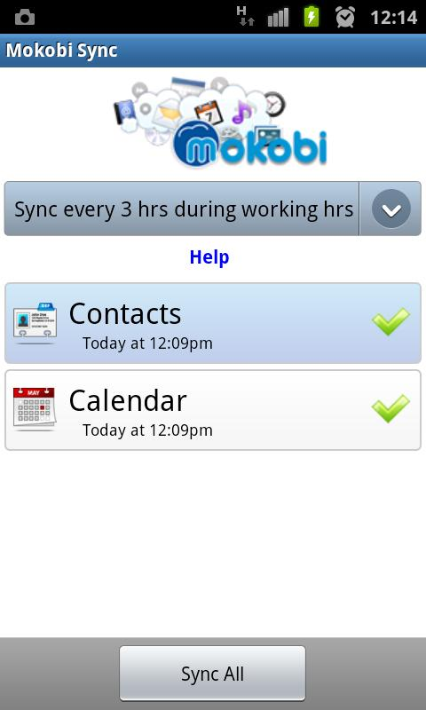 Mokobi Sync- screenshot