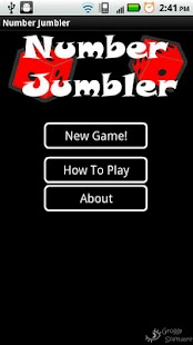 Number Jumbler - screenshot thumbnail