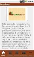 Screenshot of Lamer Legno S.n.c.