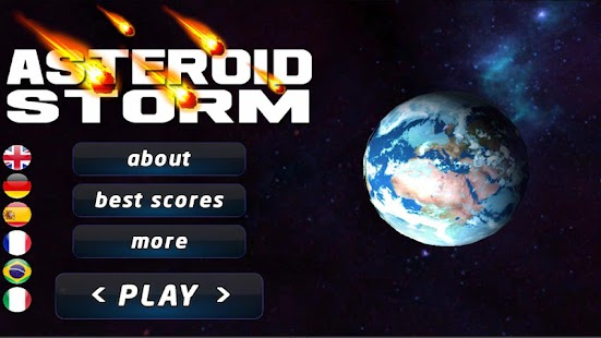 Asteroids Storm: space shooter