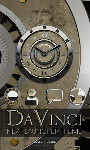 Next Launcher Theme Davinci