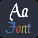 Calligraphic FlipFont®Free icon