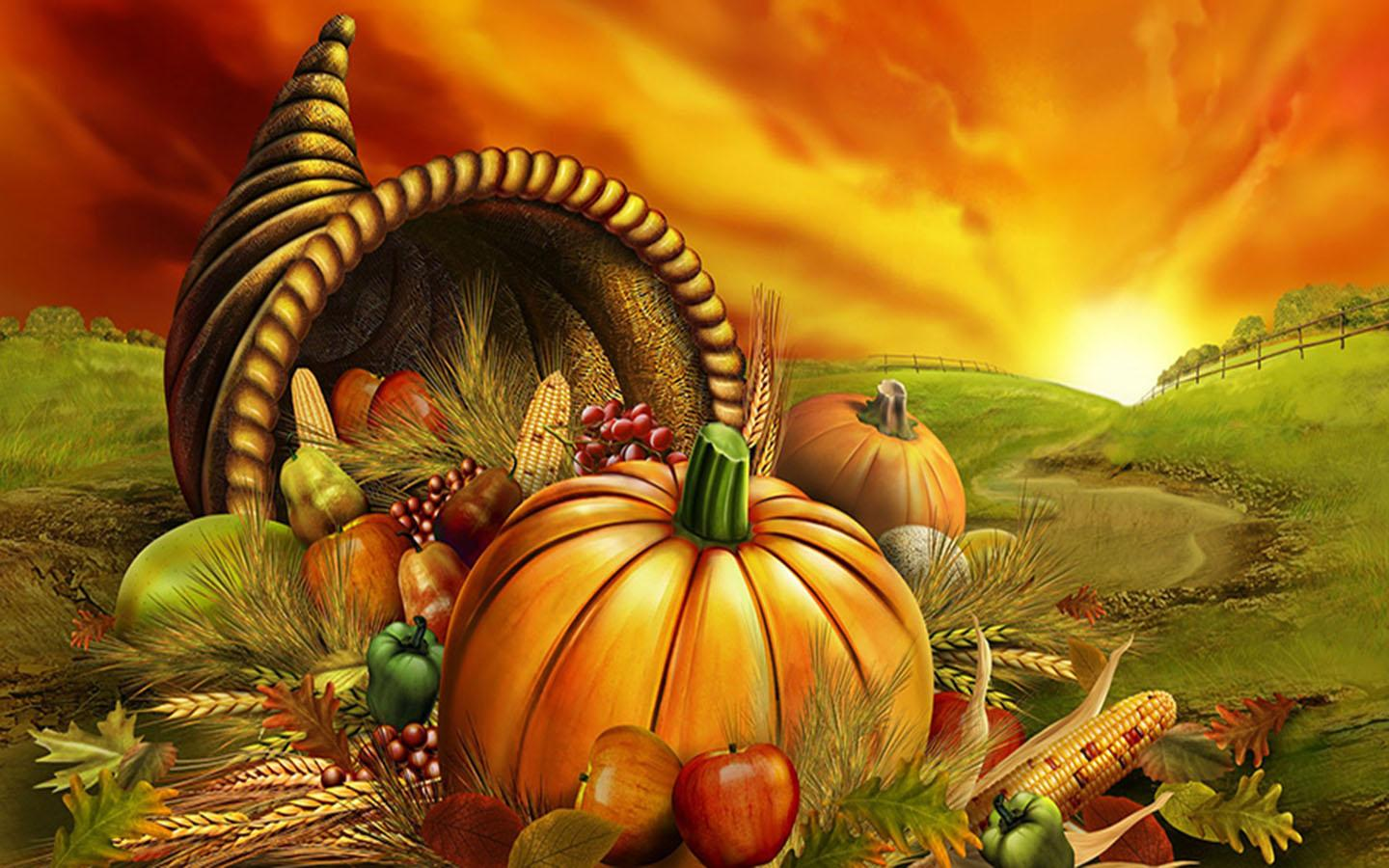 Gmail android theme background - Thanksgiving Day Wallpapers Screenshot