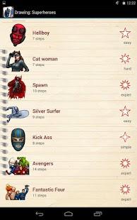 绘图超级英雄