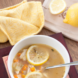 Lemon Chicken Quinoa Soup and GIVEAWAY!