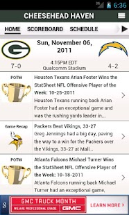 NFL by StatSheet - screenshot thumbnail