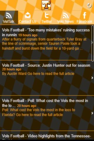 Vol Talk News - screenshot